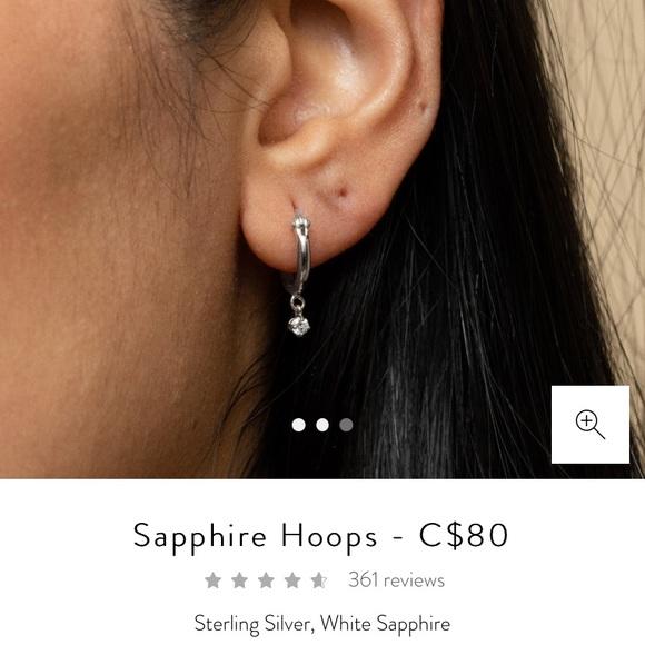 Mejuri Hoop earrings